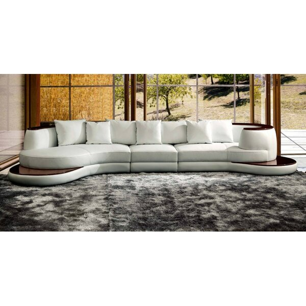 Marbleton Rounded Corner Symmetrical Sectional by Orren Ellis