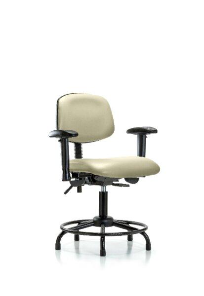 Otis Round Tube Base Ergonomic Office Chair by Symple Stuff
