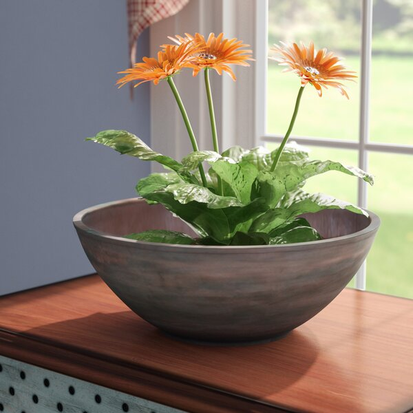 Woodstock Composite Pot Planter by August Grove