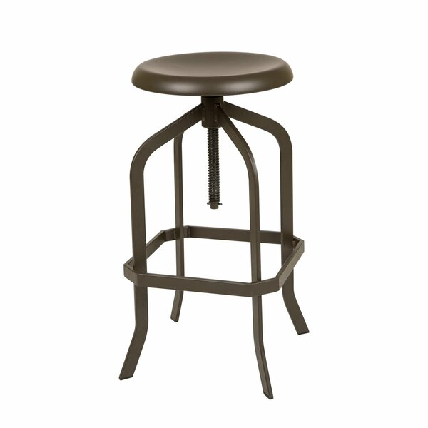 Maryetta Adjustable Height Swivel Bar Stool by Williston Forge