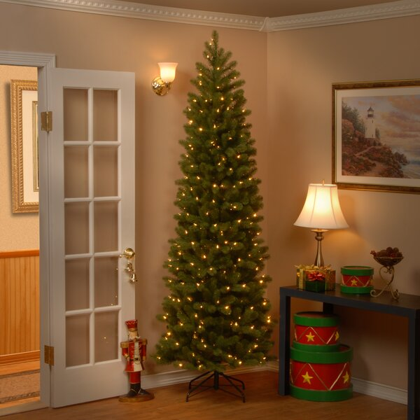 Downswept Douglas 7.5 Green Fir Artificial Christmas Tree with 350 Clear Lights and Stand by The Holiday Aisle