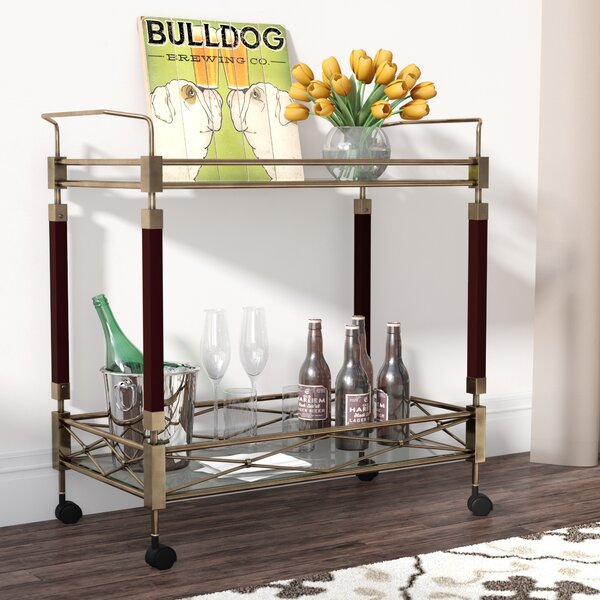 Brianna Altitude Bar Cart by Langley Street