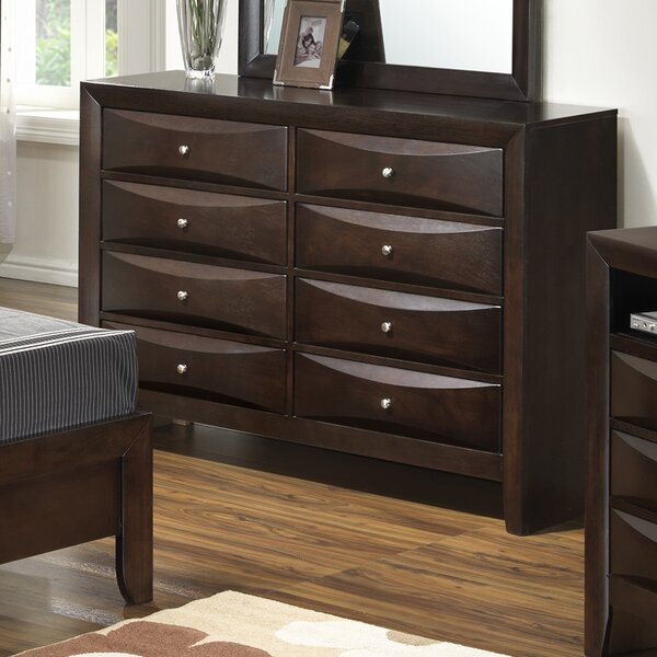 Towslee 8 Drawer Double Dresser by Winston Porter