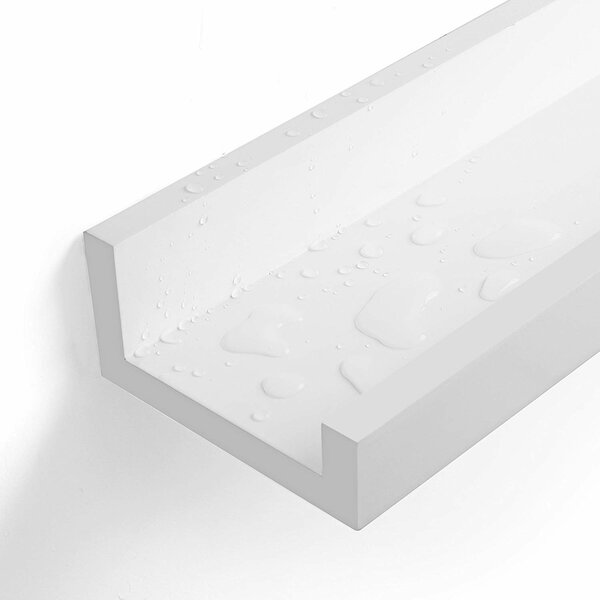 Strand 46 Long Picture Ledge Floating Wall Shelf by Ebern Designs