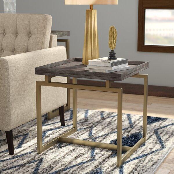 Mykel End Table by Brayden Studio