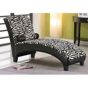 Saddler Chaise Lounge by Ebern Designs