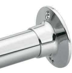 Donner 60 Straight Shower Curtain Rod by Moen