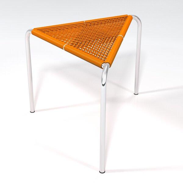 Stingo Hand-Woven PVC Cord Stool by Markamoderna