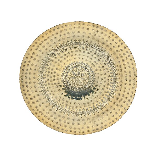 Round Centerpiece Decorative Plate by Godinger Silver Art Co