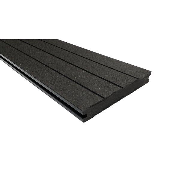 144 x 6 Composite Interlocking Deck Plank in Mocha by EP Decking