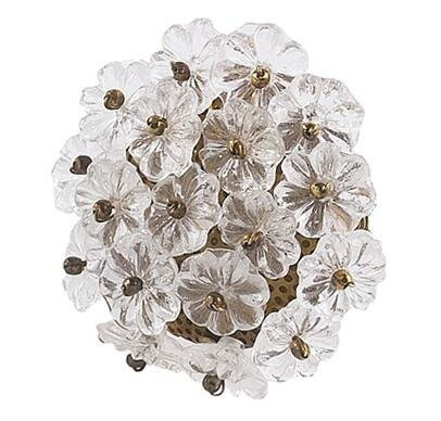 Flower Novelty Knob (Set of 4) by Jubilee Collection