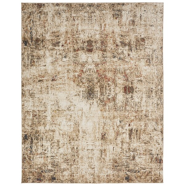 Hoddesd Parchment Ivory Area Rug by Williston Forge