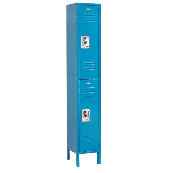 2 Tier 1 Wide School Locker by Nexel2 Tier 1 Wide School Locker by Nexel