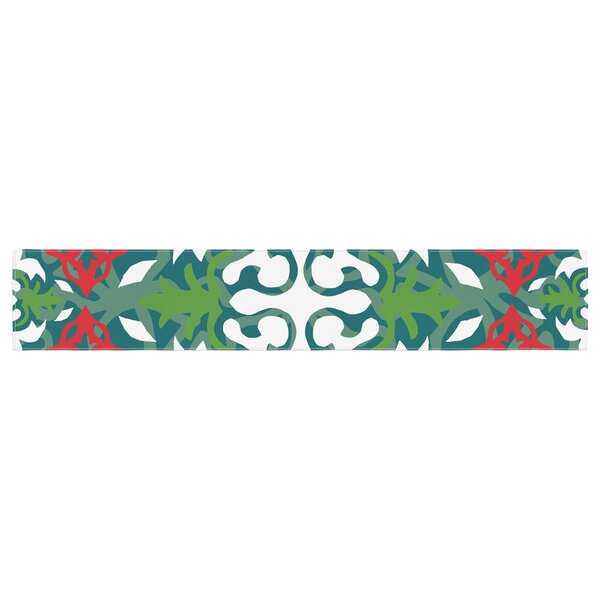 Miranda Mol Lace Flakes Table Runner by East Urban Home