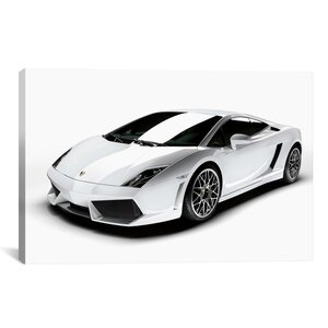 Cars and Motorcycles Lamborghini Gallardo LP 560-4 Photographic Print on Canvas by iCanvas