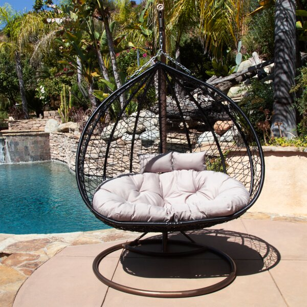 Cutright Double Swing Chair with Stand by Bay Isle Home