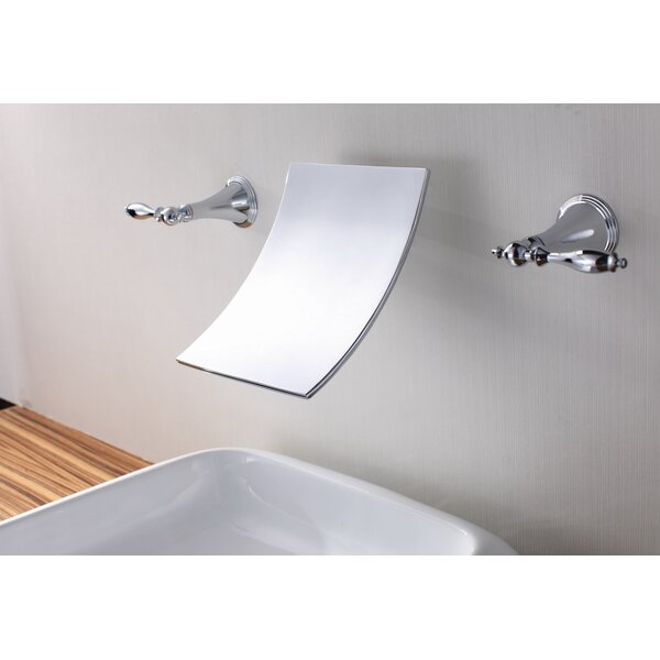 Wall Mount Waterfall Bathroom Sink Faucet by Sumerain International Group