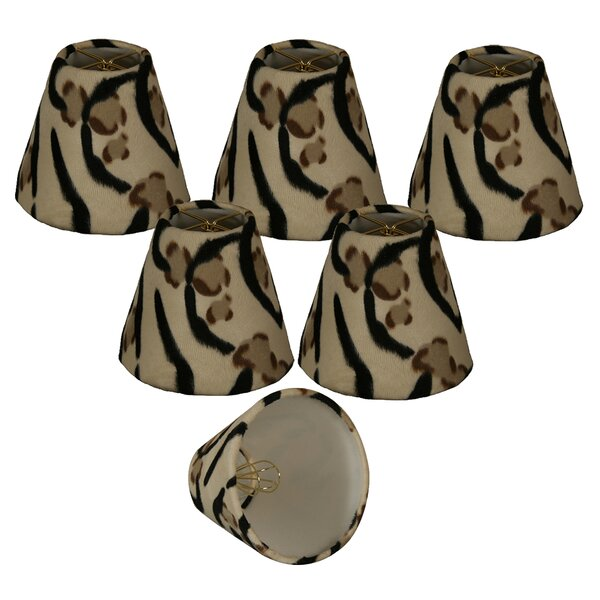 6 Faux Fur Empire Lamp Shade (Set of 6) by World Menagerie