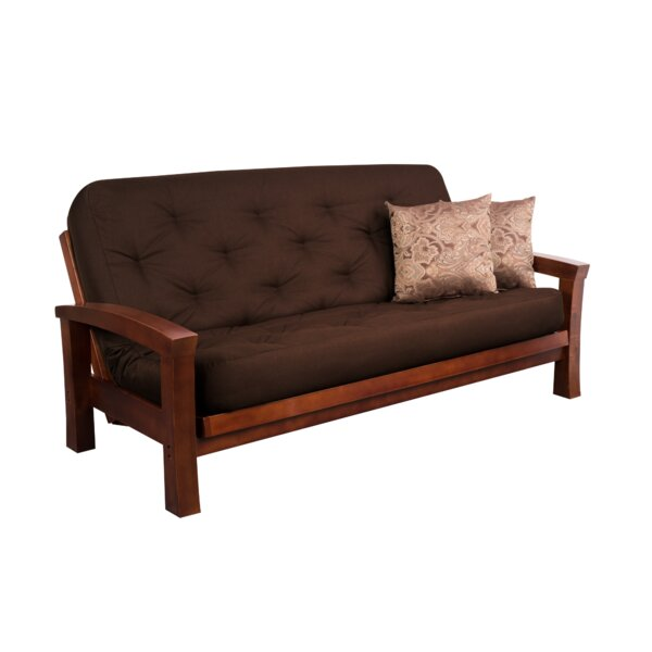 Foshee Cypress Super Spring Futon and Mattress by Millwood Pines