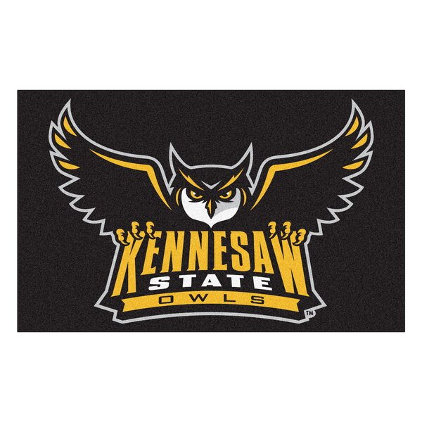 Collegiate NCAA Kennesaw State University Doormat by FANMATS