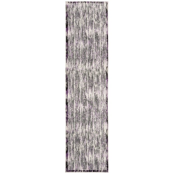 Coggin Gray/Purple Area Rug by Wrought Studio