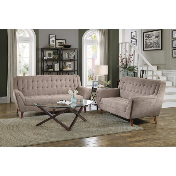 Top Brand 2018 Pante Macassar Loveseat by George Oliver by George Oliver