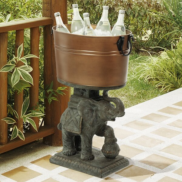 Elephant Beverage Tub by Bombay Outdoors