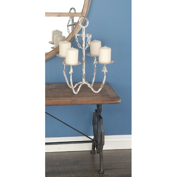 Metal Candelabra by Cole & Grey