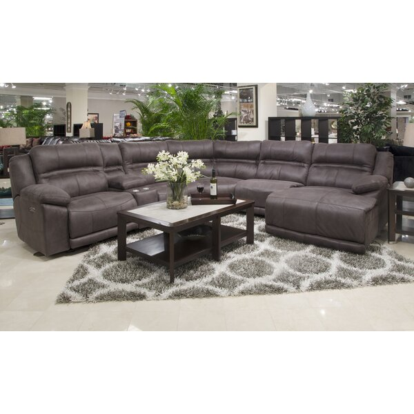 Braxton Reclining Sectional by Catnapper