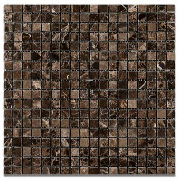 0.63 x 0.63 Marble Grid Mosaic Wall & Floor Tile