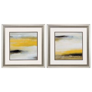 Sun Shines Through 2 Piece Framed Painting Print Set by Propac Images