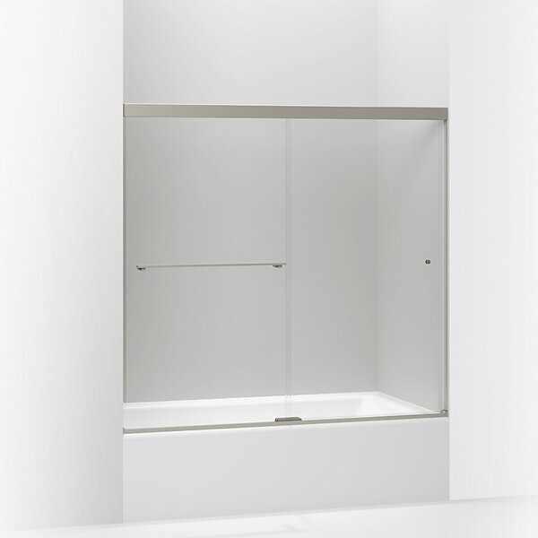 Revel 59.63'' x 55.5'' Double Sliding Bath Door with CleanCoat® Technology by Kohler