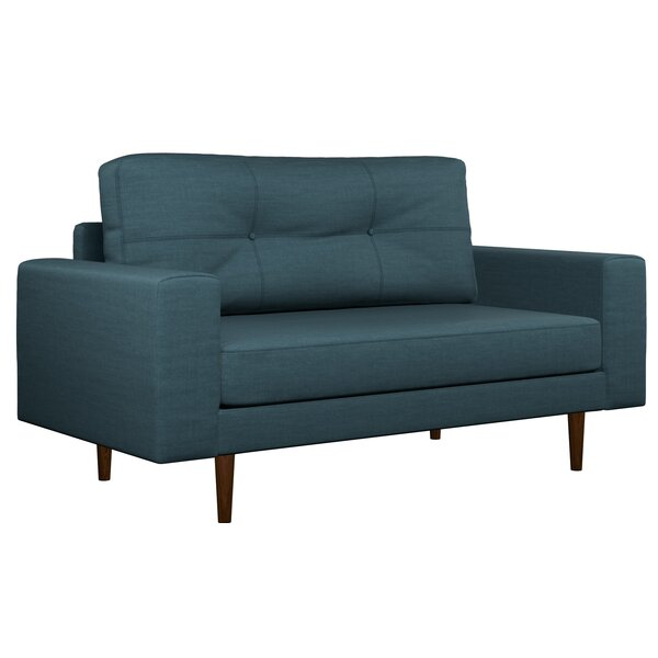 Binns Oxford Weave Loveseat by Corrigan Studio
