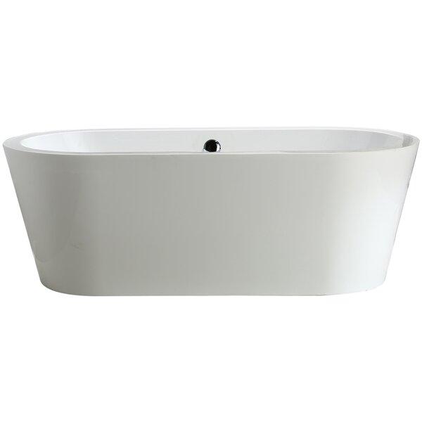 Melania 68 x 32 Soaking Bathtub by Vinnova