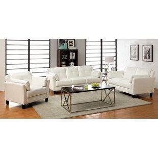 Seija 3 Piece Living Room Set by Orren Ellis