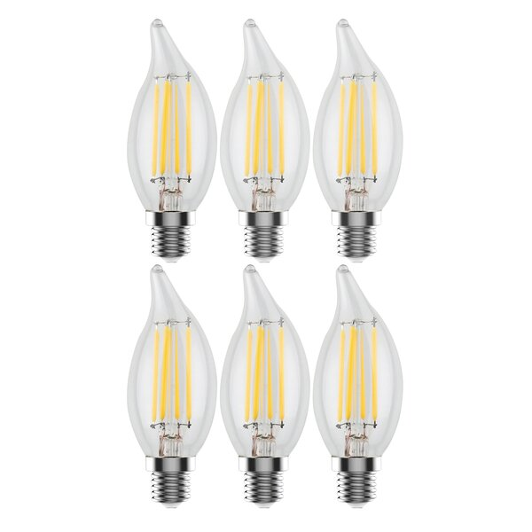 4W E12 LED Light Bulb (Set of 6) by Urbanest