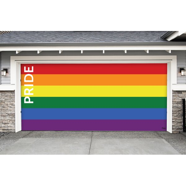 Holiday Garage Door Decor Mural by Latitude Run