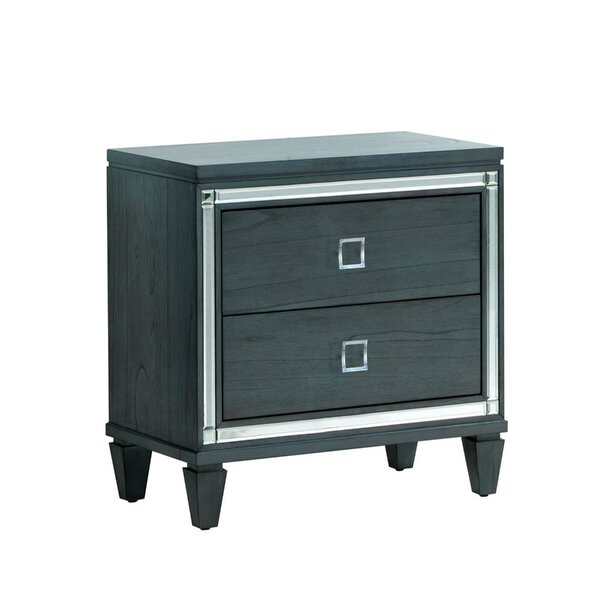 Schulz 2 Drawer Nightstand by Mercer41