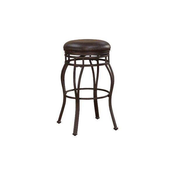 Cedar 26 Swivel Bar Stool by Darby Home Co
