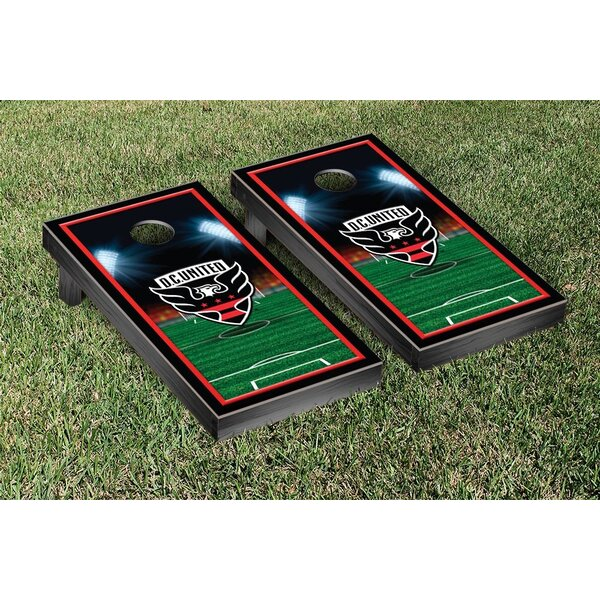 MLS Team Soccer Field Version 1 Cornhole Game Set by Victory Tailgate