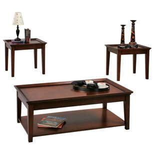 Affordable Encore 3 Piece Coffee Table Set By Progressive Furniture Inc.