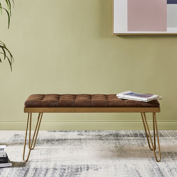 Milford Upholstered Bench by VERSANORA