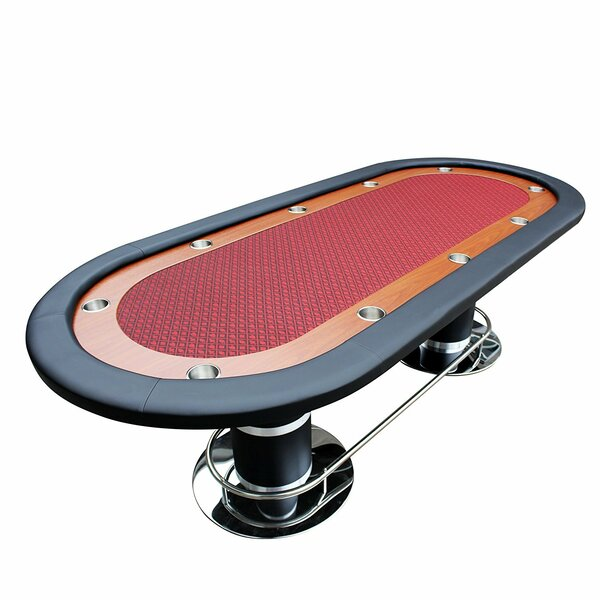 96 Professional Solid Double Base Poker Table [IDS Online Corp]
