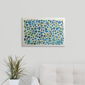 Mid Century III by Cheryl Warrick Painting Print on Wrapped Canvas by Great Big Canvas