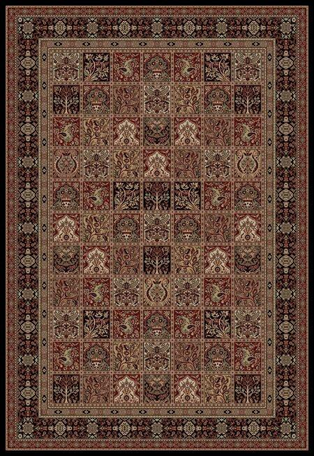 Persian Clics Oriental Panel Area Rug