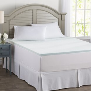 Shop Wayfair Basics 1.5 Gel Memory Foam Mattress Topper By Wayfair Basics™