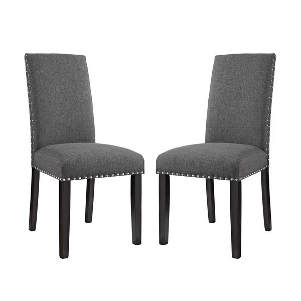 Bargain Penhook Upholstered Dining Chair (Set Of 2) By Alcott Hill Coupon