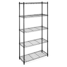 Supreme 5 Shelf Shelving Unit Starter by Whitmor, Inc