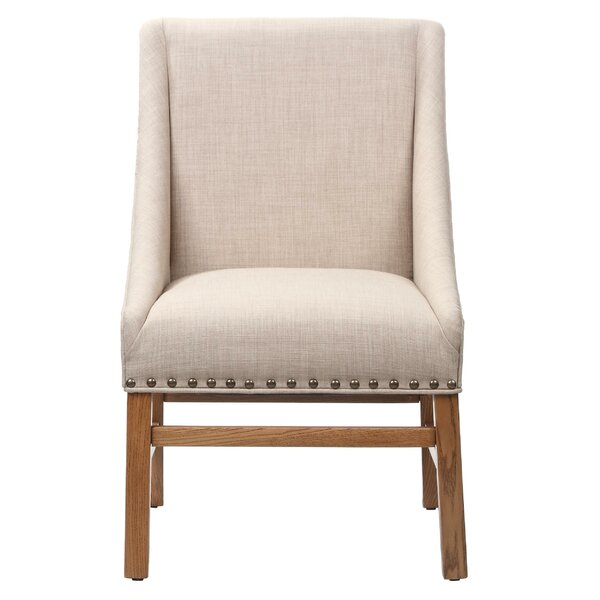 Haverhill Wooden Armchair by Gracie Oaks