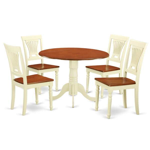 Find 5 Piece Dining Set By East West Furniture Comparison